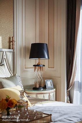 浪漫339平欧式样板间卧室装修美图样板间欧式豪华家装装修案例效果图