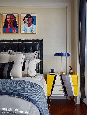 精选欧式卧室装修实景图片大全样板间欧式豪华家装装修案例效果图