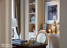 精选欧式书房装饰图片样板间欧式豪华家装装修案例效果图