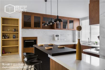 面积125平北欧四居客厅装修设计效果图片