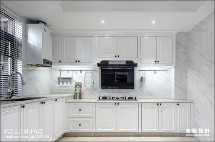 现代式优雅厨房设计图餐厅