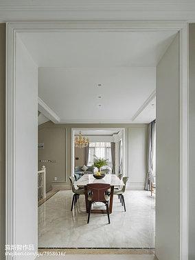 2018别墅餐厅装修设计效果图片别墅豪宅欧式豪华家装装修案例效果图