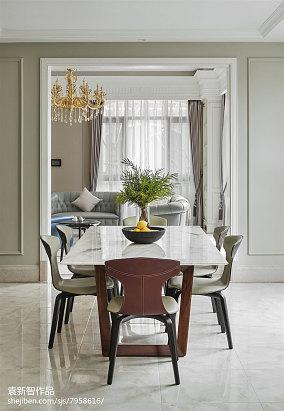 华丽581平法式别墅餐厅美图别墅豪宅欧式豪华家装装修案例效果图