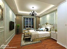 热门三居卧室简欧设计效果图