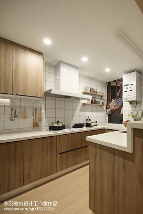 日式三居厨房设计实景图餐厅1图日式设计图片赏析