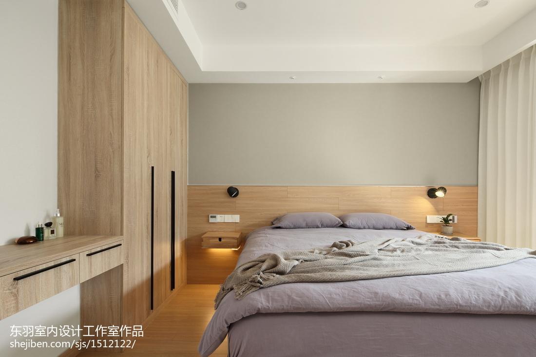日式三居主卧设计图卧室日式卧室设计图片赏析