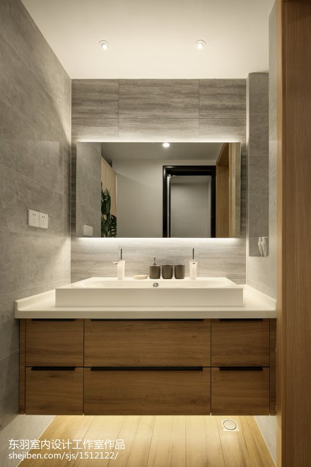 日式三居卫浴设计图片卫生间