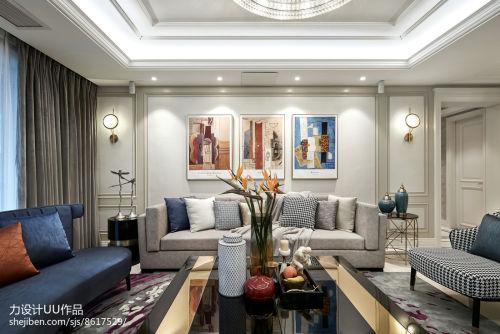 2018精选大小122平混搭四居客厅效果图片欣赏客厅沙发四居及以上家装装修案例效果图