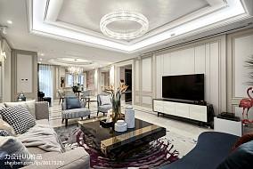 精美面积125平混搭四居客厅装修效果图客厅潮流混搭设计图片赏析