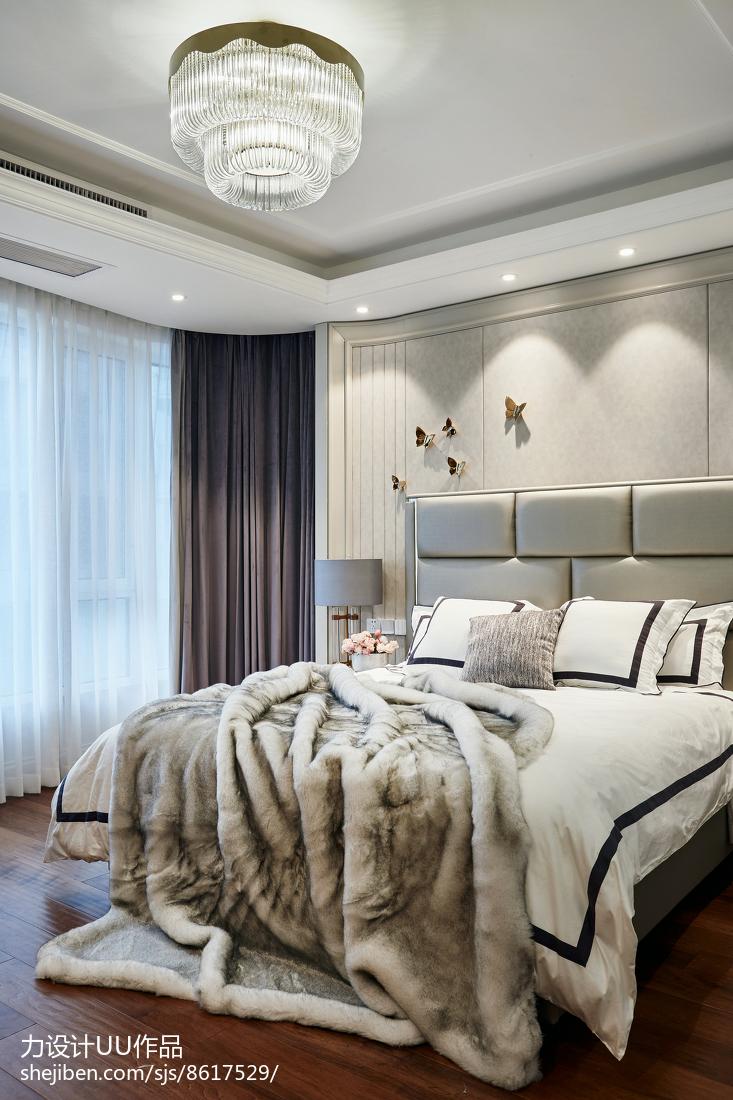 精美141平米四居卧室混搭装修效果图片欣赏卧室