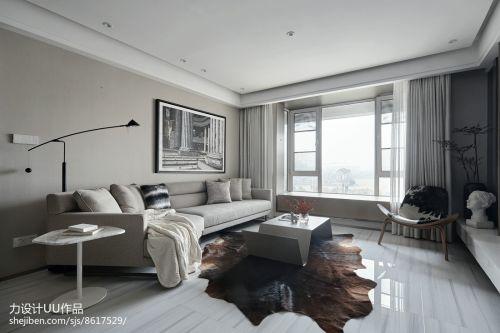 2018简约四居客厅装饰图片大全客厅沙发四居及以上家装装修案例效果图
