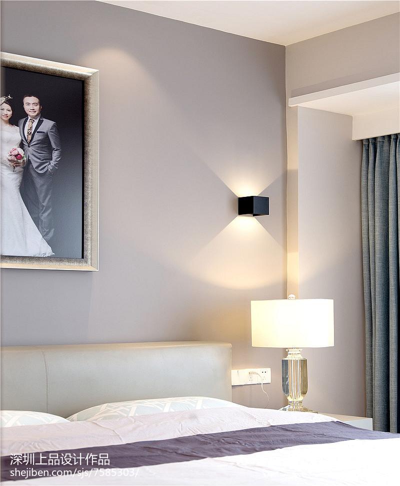 2018大小101平现代三居卧室装修设计效果图片大全卧室现代简约卧室设计图片赏析