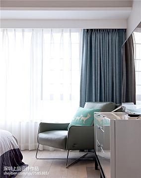 热门面积103平现代三居卧室装修图