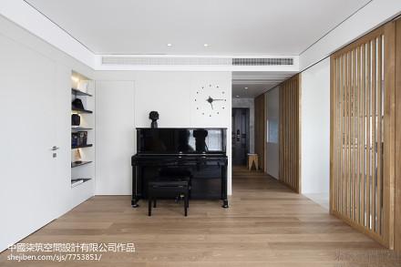 华丽55平现代二居休闲区设计美图功能区