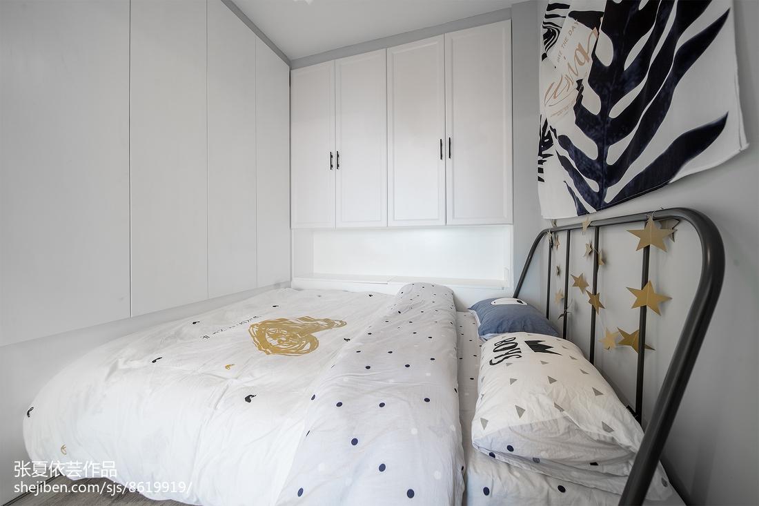 热门北欧小户型儿童房设计效果图卧室北欧极简卧室设计图片赏析