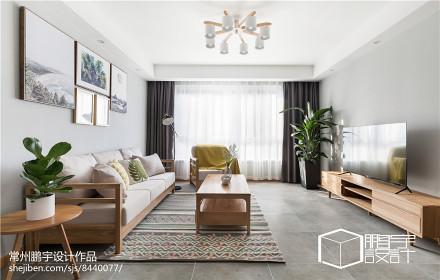 日式二居客厅设计实景图