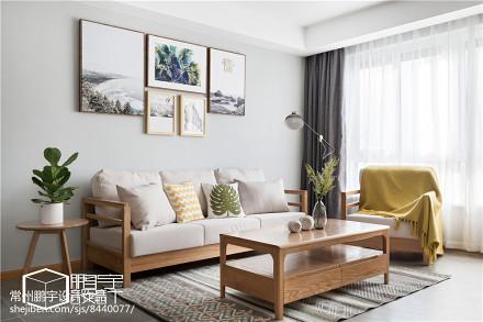 华丽82平日式二居客厅案例图