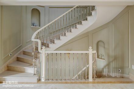 优美894平法式别墅实景图片
