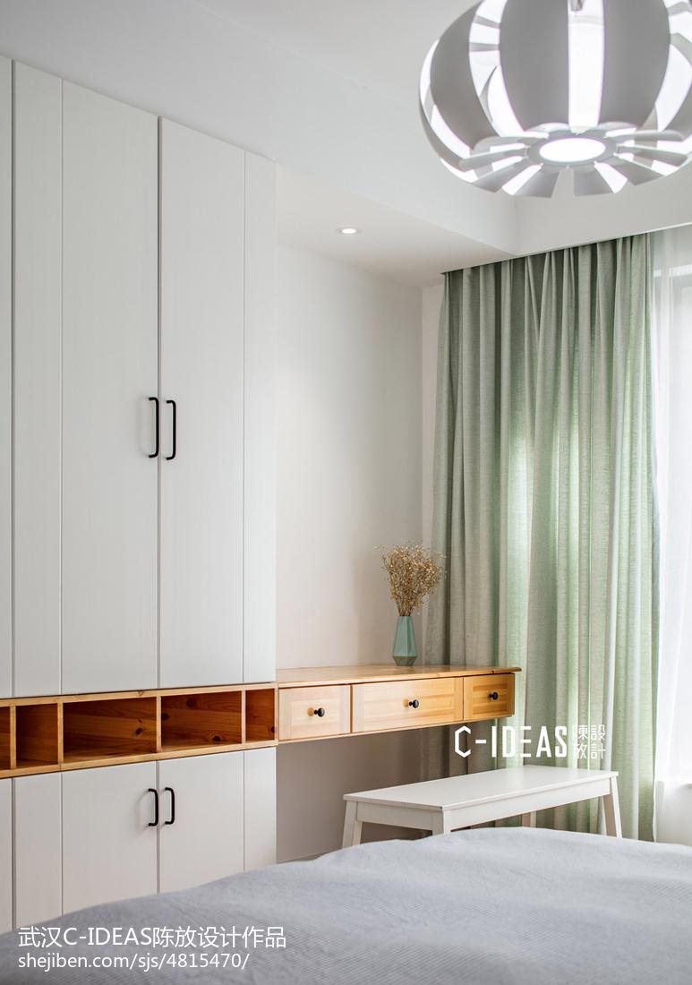 现代四居卧室梳妆台设计图卧室现代简约卧室设计图片赏析