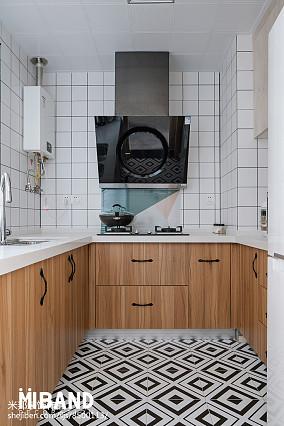 热门94平米三居厨房北欧装修效果图片欣赏