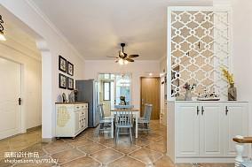 悠雅57平美式二居餐厅装修美图厨房1图美式经典设计图片赏析
