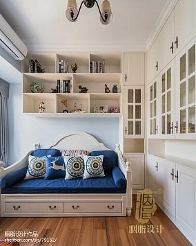 美式二居书房装修设计效果图片大全