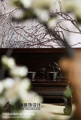 精美面积127平中式四居客厅装修设计效果图片欣赏四居及以上中式现代家装装修案例效果图