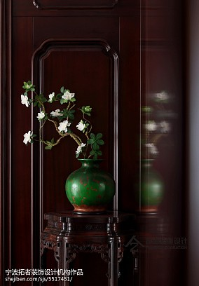 精美138平方四居客厅中式装饰图四居及以上中式现代家装装修案例效果图
