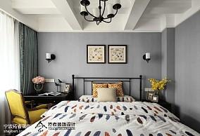 精美四居儿童房中式装修实景图片大全四居及以上中式现代家装装修案例效果图
