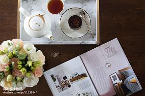 热门94平方三居客厅美式实景图片欣赏家装装修案例效果图