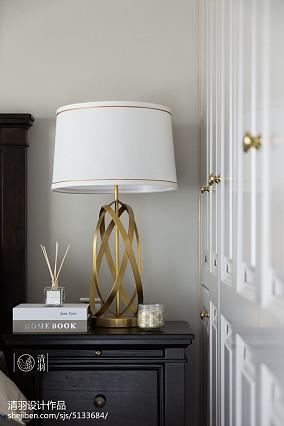浪漫101平美式三居卧室设计美图家装装修案例效果图