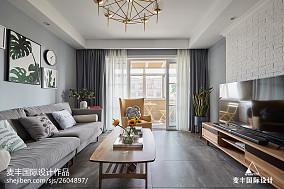 热门面积143平现代四居客厅装修效果图片欣赏