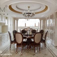 精美别墅餐厅装修设计效果图片
