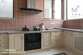 平米别墅厨房效果图片大全别墅豪宅欧式豪华家装装修案例效果图