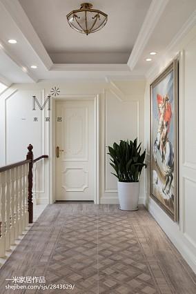 精选135平米别墅过道装饰图片别墅豪宅欧式豪华家装装修案例效果图