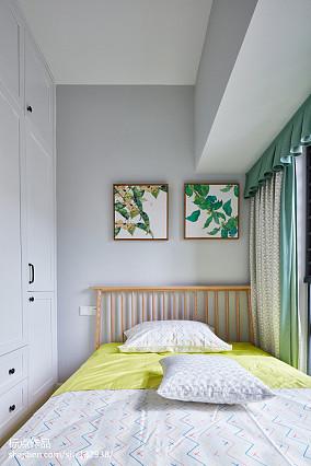精美四居卧室北欧装饰图