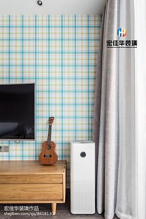 热门大小81平现代二居客厅欣赏图片大全