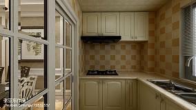 热门二居厨房美式装饰图片