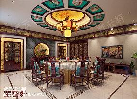 现代中式书房