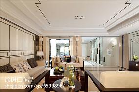 热门面积123平别墅客厅混搭实景图片大全