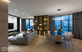 面积127平别墅客厅简约效果图片欣赏