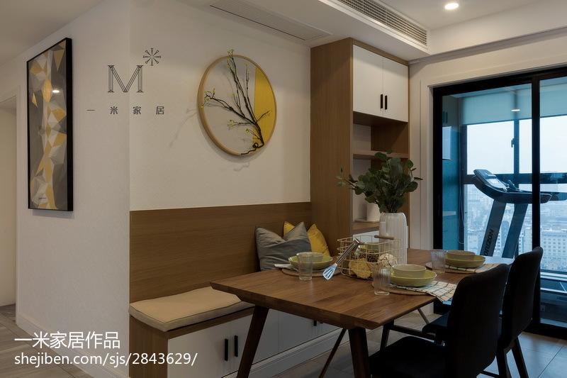 现代时尚餐厅背景墙厨房门现代简约餐厅设计图片赏析