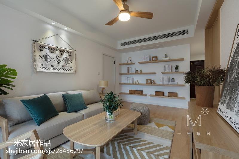 华丽102平日式四居图片欣赏客厅日式客厅设计图片赏析