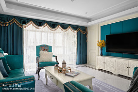 2018精选复式客厅装饰图复式欧式豪华家装装修案例效果图