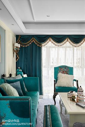 精选135平米复式客厅装修效果图片复式欧式豪华家装装修案例效果图