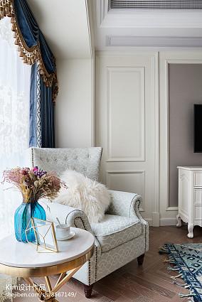 2018精选面积113平复式卧室装修图复式欧式豪华家装装修案例效果图