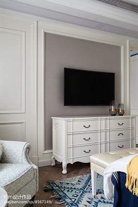 2018精选复式卧室装饰图复式欧式豪华家装装修案例效果图
