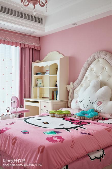 法式混搭儿童房设计图卧室