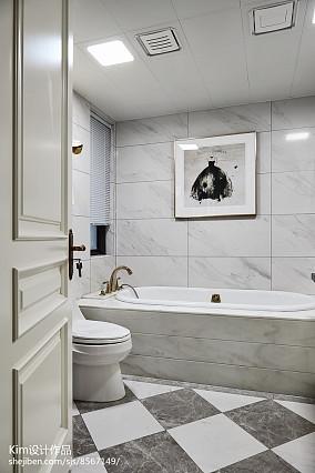 精美复式卫生间装修实景图片复式欧式豪华家装装修案例效果图