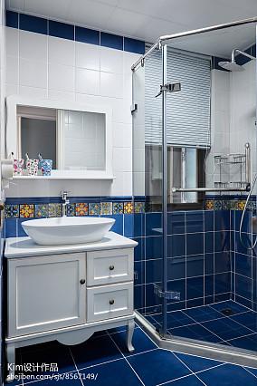 2018精选面积121平复式卫生间装修设计效果图片欣赏